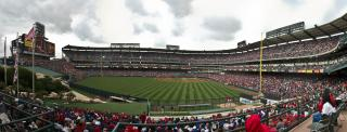 Angel Stadium Panorama by Flickr user bryce_edwards