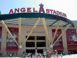 Angel Baseball Stadium by Flickr user Laertes