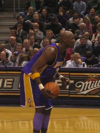 Lamar Odom by Flickr user compujeramey