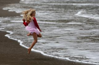 From 32 Cute Little Girl in Pink Dances photos set (uncropped) keeper by Flickr user mikebaird