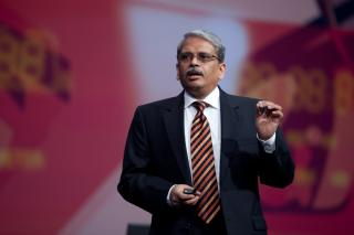 Kris Gopalakrishnan by Flickr user Oracle_Photos_Screenshots